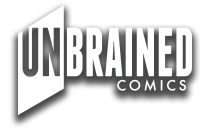 unbrained comics logo