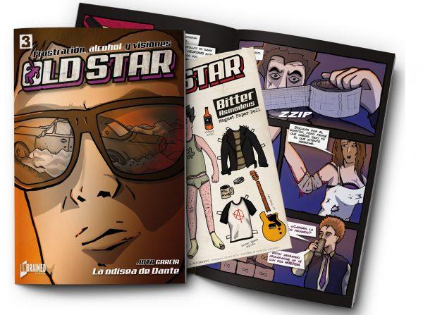 old star 3 comic