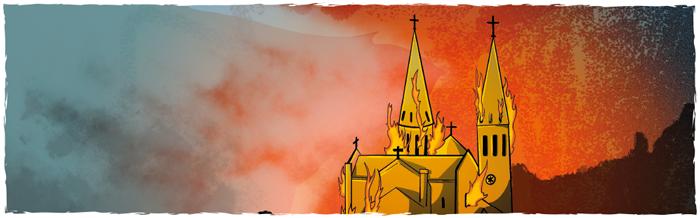 basílica de covadonga pequeña y galana comic virgen de covadonga